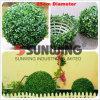 O plástico do verde da folha da alta qualidade protege a conversão artificial da cerca