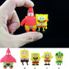 USB 섬광 드라이브 도매 Cartoom Spongebob Squarepants USB 지팡이 플래시 디스크 잠수함 메모리 카드 USB 2.0 플래시 카드 Pendrives 기억 장치 지팡이 플래시 카드 드라이브 엄지