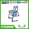 최신 판매 학교 두 배 학생 책상과 의자 (SF-14D)
