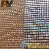 Pano metálico decorativo da tela da cortina de indicador