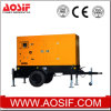 Aosif 160kw Protable Generator, Mobile Generator, Diesel Generator Set