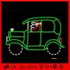 Luz de Natal enorme do carro do motivo da corda da decoração do diodo emissor de luz 2D