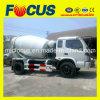 LHD of Rhd Foton 4X2 Mini Truck Mixer met 3m3/4m3/6m3
