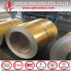 Galvalume цвета печати ASTM A792 Antifinger катушка золотистого стальная