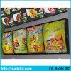 表示メニューボードのライトボックスを広告する熱い売出価格の壁