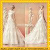 Vestidos de casamento brancos Rr2003 do vestido de esfera dos vestidos nupciais do grupo do laço