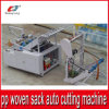 China Supplier Auto Cutting Machine für Plastic pp. Woven Sack Bag
