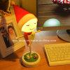 電池LED表の電気スタンドが付いているかかしLEDのクリスマスの夜ライト