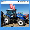 Neumático mini de la granja 155HP 4WD/pequeño/del arroz agrícola/alimentador diesel de la rueda