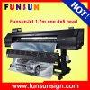 Funsunjet Fs1700k 1.7mの屈曲の旗の印刷のための高速の1つのDx5ヘッドが付いている広いフォーマットプリンター