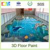 L'époxy liquide parquette la peinture 3D