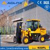 4WD中国の工場新しいフォークリフトの販売のための小さい車輪のローダー