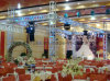 De decoratieve Pijlers van de Bundel van het Huwelijk