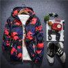 Куртка блока Sun эластичного камуфлирования тумака с капюшоном для одежд человека