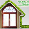 ViliaのためのよいQuality Wood Aluminum Casement Window