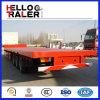 Asse resistente 3 rimorchio a base piatta del camion da 60 tonnellate per il trasporto del contenitore