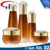 黄色いカラー熱い販売法のガラス化粧品のローションのびん(CHR8029)