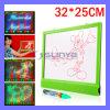 32 mémoire de la table des messages lumineuse DEL de X.25 cm par Digitals annonçant le crayon lecteur de repère de panneau-réclame (MB-1015)