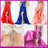 Vestido de noite elegante transparente frisado Handmade superior do vestido sexy do baile de finalistas da sereia 2015 (C-100)