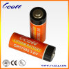 Battery espiral un Size 3V 2500mAh Cr17505 Limno2 Battery para el sistema de seguridad