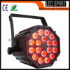 De Disco Stage Light van LED 18PCS Professional Rgbwy+UV 6in1 PAR