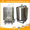 Tanques industriais da fermentação da cerveja com isolação