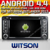 Witson Android 4.4 Car DVD voor Mitubishi Outlander 2013 met ROM WiFi 3G Internet DVR Support van Chipset 1080P 8g