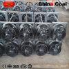Insieme di rotella del vagone di estrazione mineraria dell'acciaio di getto