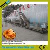 La patate douce pourprée ondulée faisante frire économique ébrèche la chaîne de production