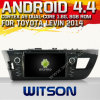 Carro DVD do Android 4.4 de Witson para Toyota Levin 2014 com A9 sustentação do Internet DVR da ROM WiFi 3G do chipset 1080P 8g