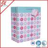 装飾的な手すき紙のギフト袋の花のペーパーギフト袋