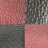 PVCレザーの靴革は柔らかい車の革家具の革合成物質の革を袋に入れる
