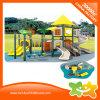 Diapositiva al aire libre del parque de atracciones de la interacción de múltiples funciones para los niños