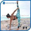 La signora sexy Yoga Pants New Style lascia gli sport Tights&#160 della ragazza di forma fisica di stampa dei cerchi;