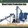Usine en bois de boulette à vendre la chaîne de production en bois complète de boulette chaîne de production de boulette de biomasse