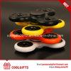 Girador plástico popular de venda quente do dedo do brinquedo do presente das crianças do girador da mão