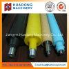 La température élevée personnalisée résistent au rouleau de silicones de pétrole de fuite pour la bande de conveyeur