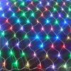 A rede colorida de 6 cores ilumina luzes da corda do Natal do diodo emissor de luz