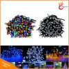 Lumière solaire à LED String Light 200LED 22m et 100LED 12m Christmas Garden Party Décoration de mariage Éclairage RGB Colorful Lights