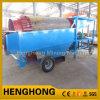 Wasmachine van het Scherm van de Separator van het Scherm van de Zeeftrommel van de trommel de Roterende Kleine Gouden