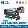 impresora de inyección de tinta solvente del 1.8m Eco con la cabeza de impresión Dx8 para el vinilo