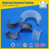 Alumínio de plástico Random Tower Packing Intalox Saddle Ring