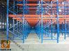 Movimentação high-density na cremalheira de aço da pálete do armazenamento do armazém