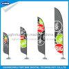 安くおよび高品質の上陸海岸表示旗の羽の形
