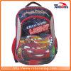 O estudante da forma do teste padrão da raça de carro caçoa sacos da trouxa da escola