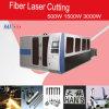 Machine de découpage de laser de fibre de GS de Hans 2500W avec la palette échangeable flexible
