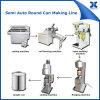 Halb automatische runde 1-5L Blechdose, die Maschine herstellt