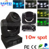 Neuestes 10W Beam Spot Moving Head Stage Light
