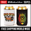 Dye Sublimation Full Color Custom Printed Can Koozie