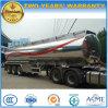 タンカー40000リットルのアルミ合金の燃料の40000 L半ステンレス鋼のトレーラー